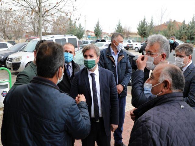 Vali Aydoğdu saha çalışmalarını sürdürüyor