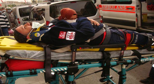 Eczane Çalışanı Sağlık Görevlisine Saldırdı