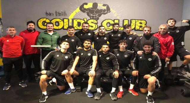 Aksaray Belediyespor Gücünü Fitness'la koruyor