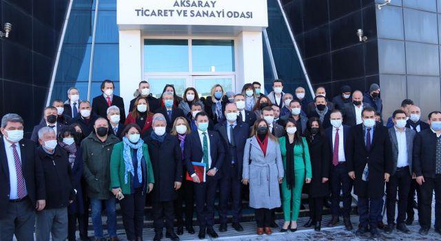 """Kemal Kılıçdaroğlu """"Chp'nin 138 Milletvekili De Aksaray'ındır"""" Dedi"""