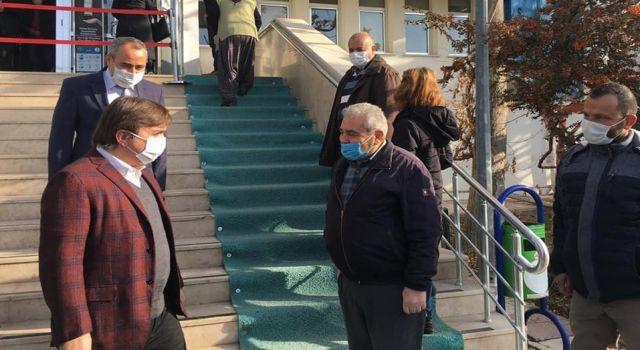 Vali Aydoğdu'dan Sgk'ya Çat Kapı Ziyaret