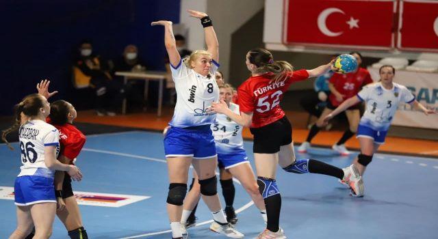 2021 Dünya Hentbol Şampiyonası Elemeleri Play-Off Turu: Türkiye: 23 - Rusya: 35