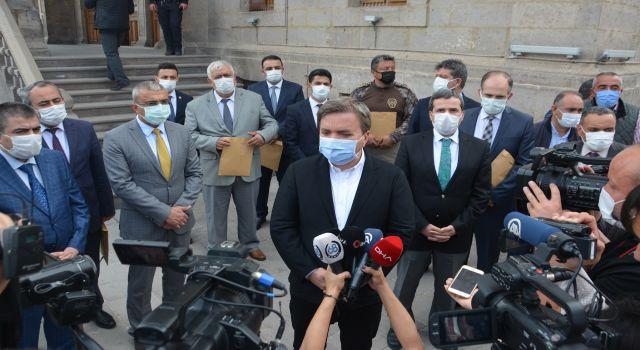 Aksaray'da pandemi dayanışması göz yaşarttı