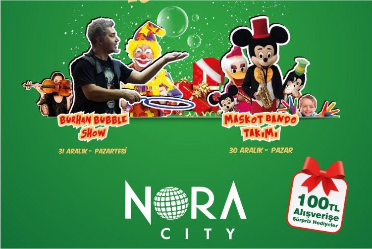 Nora City Yeni Yılı Coşkuyla Karşılıyor