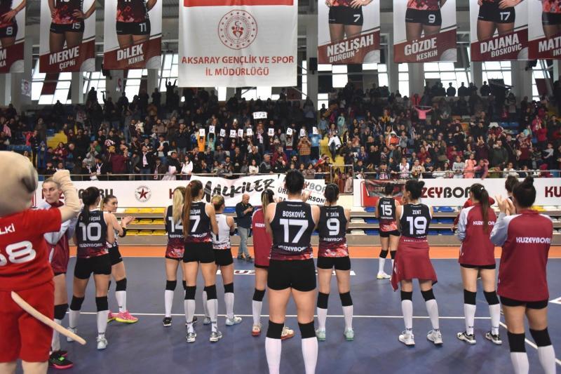 Aksaray Spor Salonu'na Altın Dokunuş