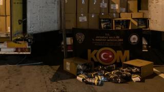 Kolilerin İçinden 19 Ton 700 Kilo Kaçak Tütün Çıktı
