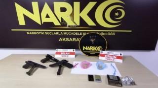 Aksaray'da Uyuşturucu Operasyonu: 4 Tutuklama