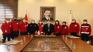 İzmir'den Dönen UMKE Ekibine Teşekkür Belgesi