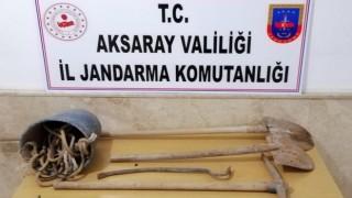 Kaçak Kazı Yapan 7 Kişi Suçüstü Yakalandı