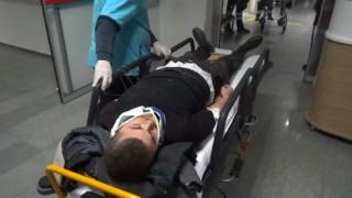 Ayrı Şarampol Kazası 2 Yaralı