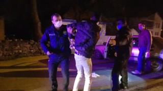Dur ihtarına uymayan sürücü polisi peşine taktı