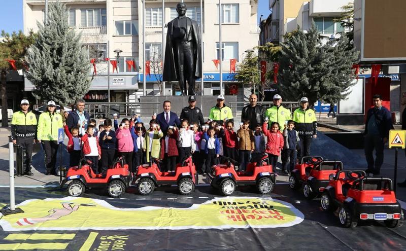 Mobil Trafik Eğitim Tırı Aksaray'da
