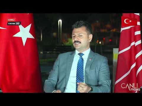 Canlı Masanın Bu Haftaki Konuğu CHP İl Başkanı Ali Abbas ERTÜK'dü